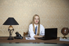 Hard work in the office Royalty Free Stock Image