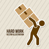Hard work Royalty Free Stock Image