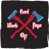 Hard work pays off Royalty Free Stock Images