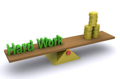 Hard Work - Wealth Royalty Free Stock Photo
