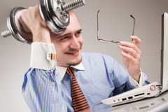 Hard worker Royalty Free Stock Photos
