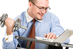 Hard worker Stock Image