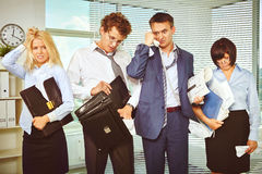 Hard working day Royalty Free Stock Image