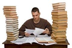 Hard working man Stock Image