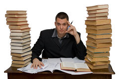 Hard working man Royalty Free Stock Photo
