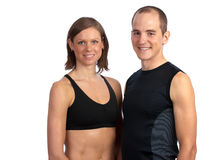After a hard workout Royalty Free Stock Images