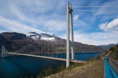 Hardanger桥梁 免版税图库摄影