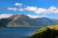 Hardanger fjord, Hordaland county, Norway. Hardanger fjord, Hordaland county, Norway stock images