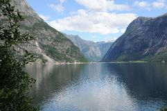 hardangerfjord Στοκ Εικόνες