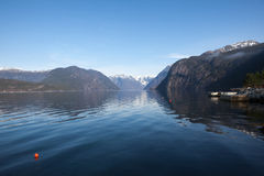 Hardangerfjord Photo stock