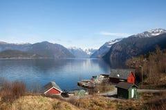 Hardangerfjord Lizenzfreies Stockfoto