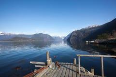 Hardangerfjord Photos libres de droits