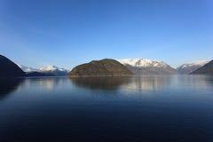 Hardangerfjord Image libre de droits