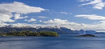 Hardangerfjord Fotografia Stock