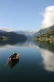 Hardangerfjord, Ulvik Photo libre de droits