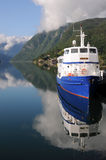 Hardangerfjord, Ulvik Photographie stock