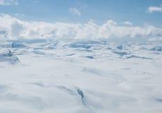 Hardangerjøkulen Photos libres de droits