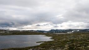 Hardangervidda山区 图库摄影