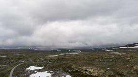 Hardangervidda山区 免版税图库摄影