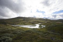 hardangervidda Νορβηγία Στοκ εικόνα με δικαίωμα ελεύθερης χρήσης