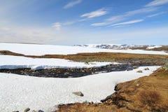 hardangervidda Νορβηγία Στοκ Εικόνα