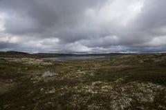 Hardangervidda, Norway. Hardangervidda the largest mountain plateau in Europe , Norway Stock Images