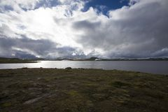 Hardangervidda plateau Royalty Free Stock Photos