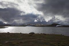 Hardangervidda plateau Stock Images