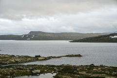 The Hardangervidda Mountain Area Stock Photography