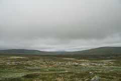 The Hardangervidda Mountain Area Stock Photos