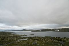 The Hardangervidda Mountain Area Royalty Free Stock Images