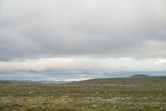 The Hardangervidda Mountain Area Stock Images