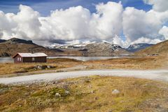 Hardangervidda Mountain Plateau Royalty Free Stock Photography