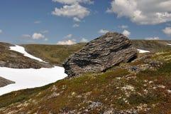 Hardangervidda, Norvège Photo libre de droits