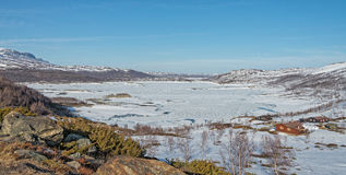 Hardangervidda, Norway Stock Image