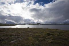 Hardangervidda, Norway. Hardangervidda the largest mountain plateau in Europe , Norway Stock Photos