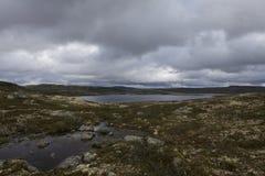 Hardangervidda, Norway. Hardangervidda the largest mountain plateau in Europe , Norway Stock Photo