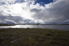 Hardangervidda platå Royaltyfria Foton