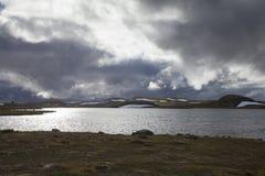 Hardangervidda platå Royaltyfri Bild