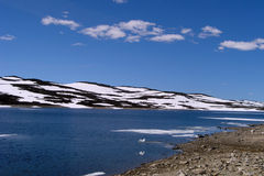 Hardangervidda plateau 1 Royalty Free Stock Photo