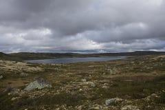 Hardangervidda plateau Stock Image