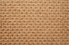 Hardboard texture closeup as background Royalty Free Stock Images