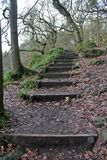 Hardcastle brant klippa, västra Yorskhire Royaltyfria Bilder