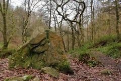 Hardcastle Crags, Zachodni Yorskhire Obraz Royalty Free