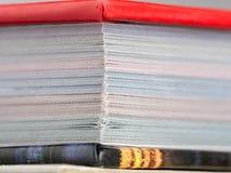 Hardcopy boek Royalty-vrije Stock Afbeelding