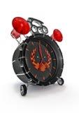 Hardcore alarm clock Royalty Free Stock Photography