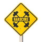 Hardcore teken Stock Fotografie