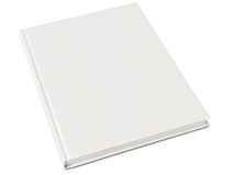 κενό βιβλίο hardcover Στοκ φωτογραφίες με δικαίωμα ελεύθερης χρήσης