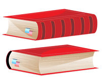 Hardcover with bookmarks Stock Photos