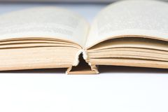 Hardcover books Royalty Free Stock Image